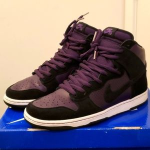 Nike SB Hi Top Dunk RARE worn 1 time size 12